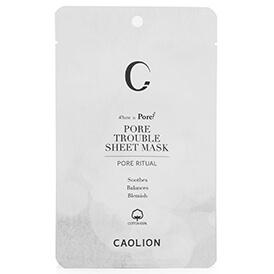 Caolion Pore Trouble Sheet Mask