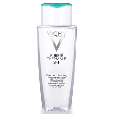 Vichy Purete Thermale 3-in-1 One Step Cleansing Micellar Water Cleanser