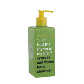 Anatomicals Cypress and thyme body cleanser