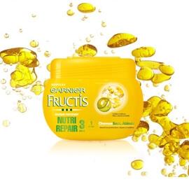 FRUCTIS Masque Nutri Repair 3 Huiles