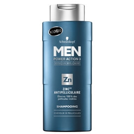 Schwarzkopf Men Power Action 3 Schwarzkopf Men Antipelliculaire Zinc