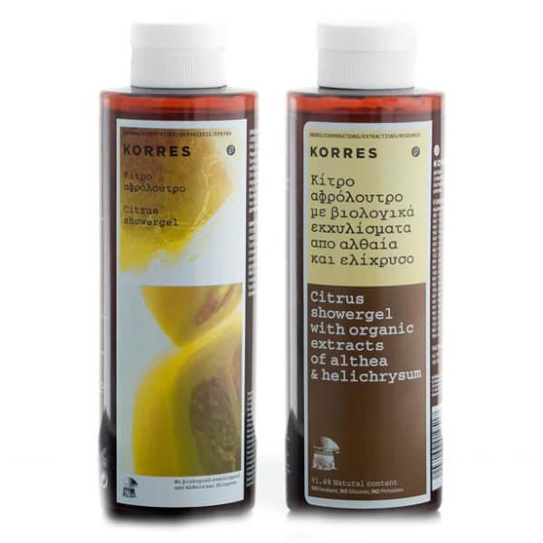 KORRES Citrus Showergel