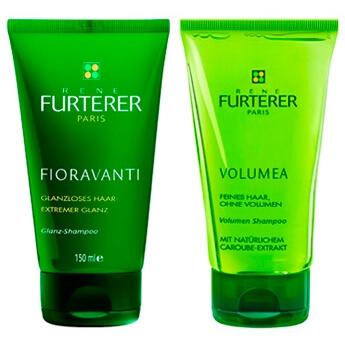 René Furterer Paris Fioravanti Glanz-Shampoo und Volumea Volumen Shampoo