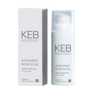 KEB SKINCARE Antioxidant Facial Scrub