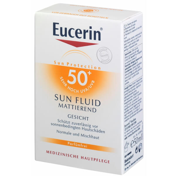 Eucerin Sun Protection SUN FLUID 30/50+ mattierend