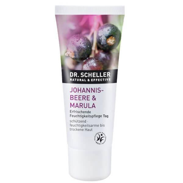 """DR. SCHELLER NATURAL & EFFECTIVE """"Johannisbeere & Marula"""" Erfrischende Feuchtigkeitspflege Tag"""
