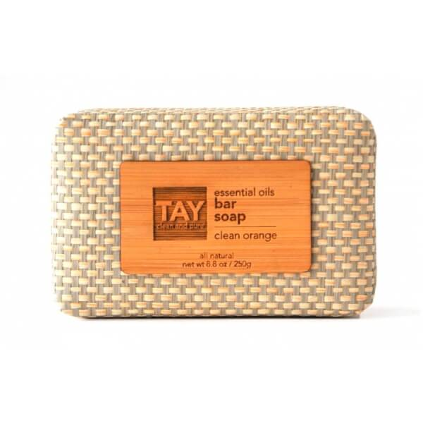 TAY Bar Soap in Clean Orange