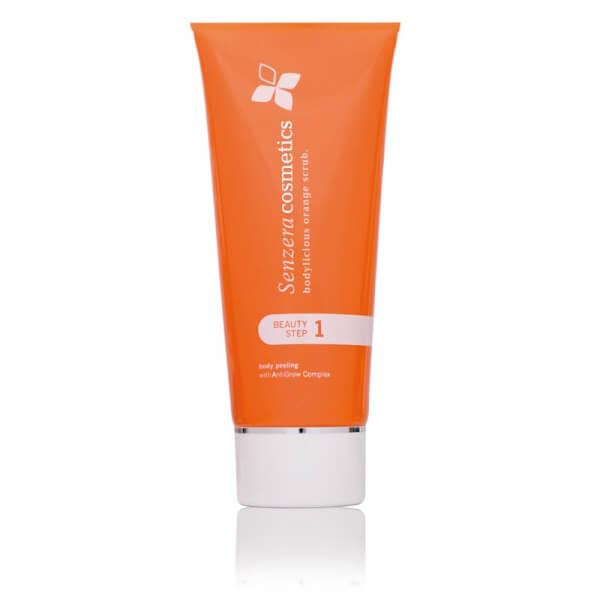 Senzera bodylicious orange scrub