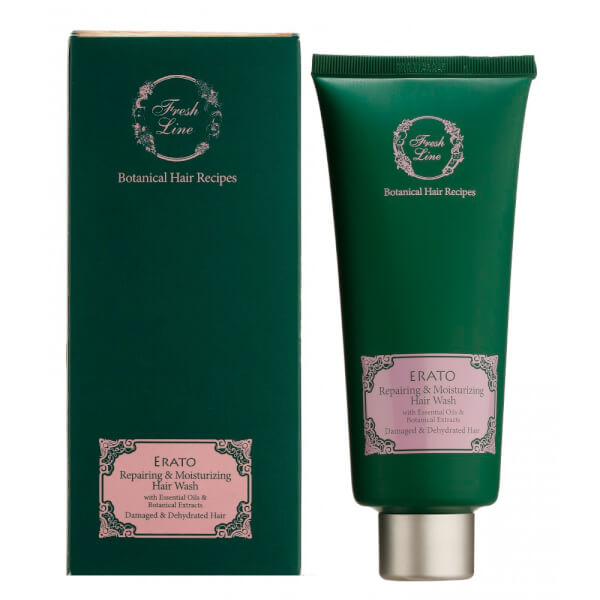 Fresh Line Cosmetics ERATO reparierendes & feuchtigkeitspendendes Shampoo