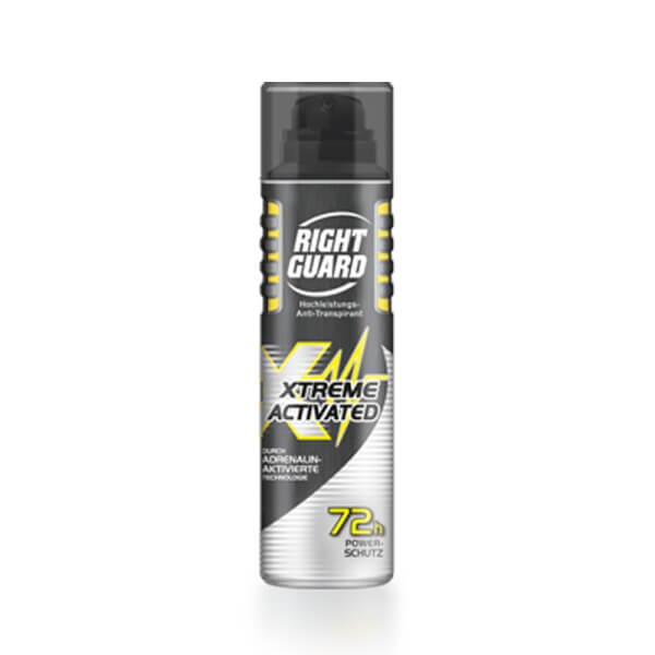 Right Guard XTREME ACTIVATED