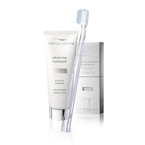 Swiss Smile whitening Zahnpasta und swiss smile vitalisierende Kräuterzahnpasta