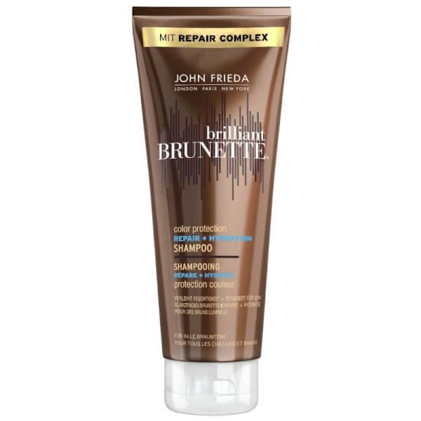 John Frieda Brilliant Brunette Color Protection Repair + Hydration Shampoo