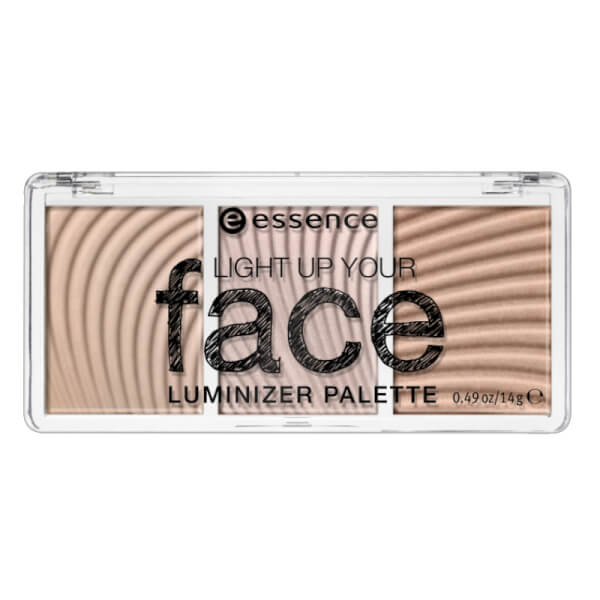 essence light up your face luminizer palette 10