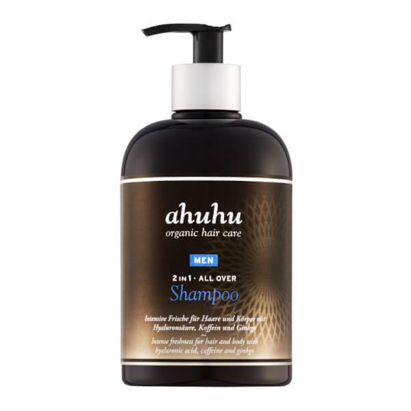 ahuhu organic hair care 2in1 ALL OVER SHAMPOO