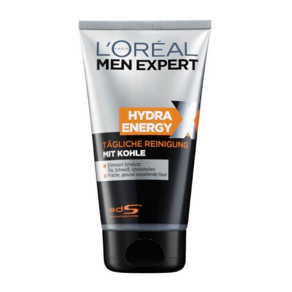 L'Oreal Paris Men Expert Hydra Energy X – Tägliche Reinigung mit Kohle