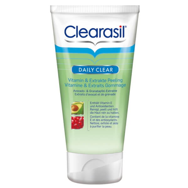 Clearasil Daily Clear Vitamin & Extrakte Peeling