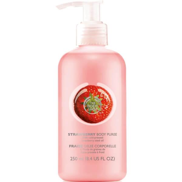 The Body Shop Strawberry Puree Body Lotion