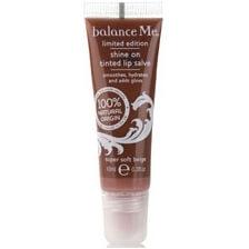 Balance Me Shine On Tinted Lip Salve Super Soft Beige