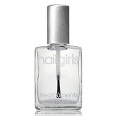 Nail Girls SUPER FINISH: 3-in-1 base/topcoat & nail strengthener