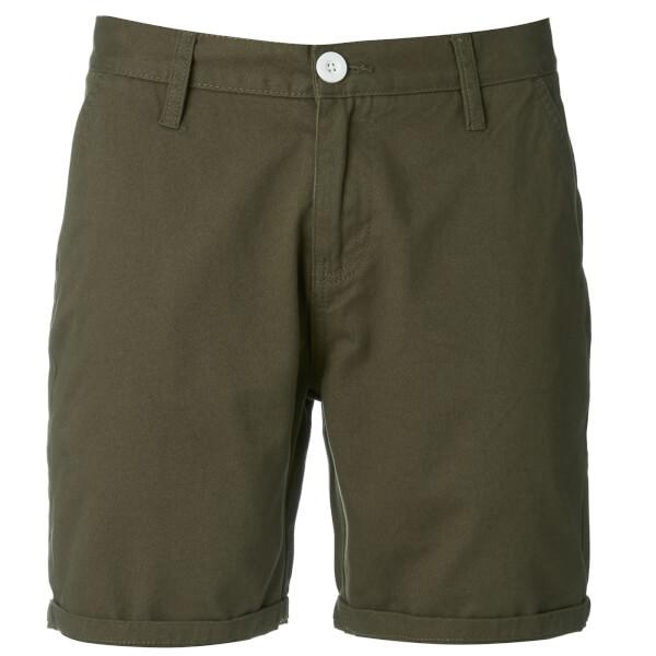 Brave Soul Men's Smith Chino Shorts - Khaki
