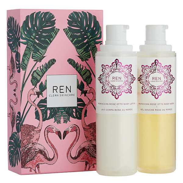 REN Rose to the World Duo (Worth $74)