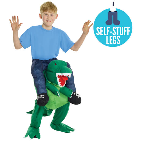 Piggyback Kids' T-Rex Costume - Green