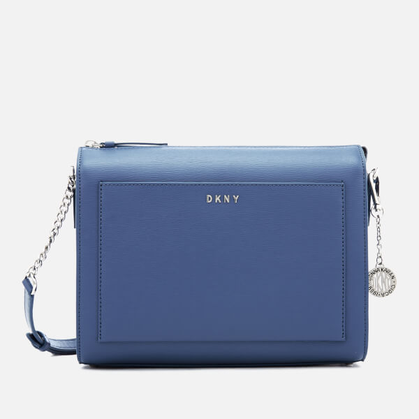 DKNY Women's Bryant Medium Box Cross Body Bag - Blue Jay