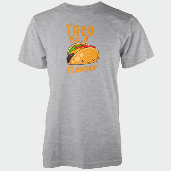 Taco Bout Flavour Grey T-Shirt