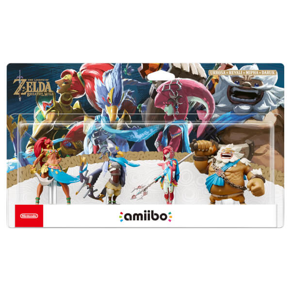 The Champions amiibo Set (The Legend of Zelda: Breath of the Wild Collection)