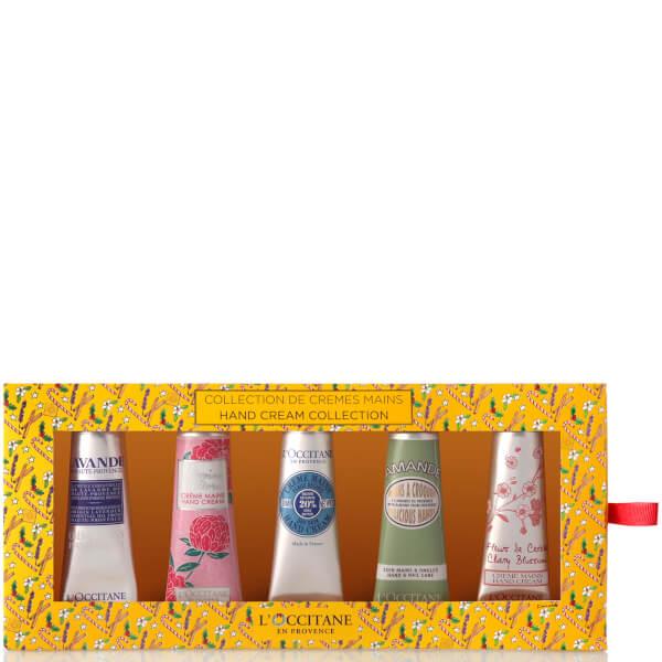 L'Occitane 5 Piece Hand Cream Collection Set (Worth $60.00)