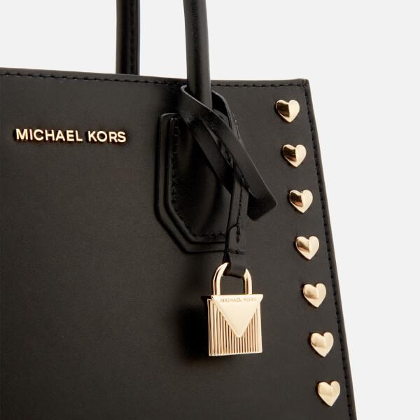 7f7940920c7f MICHAEL MICHAEL KORS Women's Mercer Medium Messenger Bag - Black: Image 4