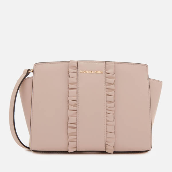09dc24f83a64 MICHAEL MICHAEL KORS Women's Selma Medium Messenger Bag - Soft Pink: Image 1