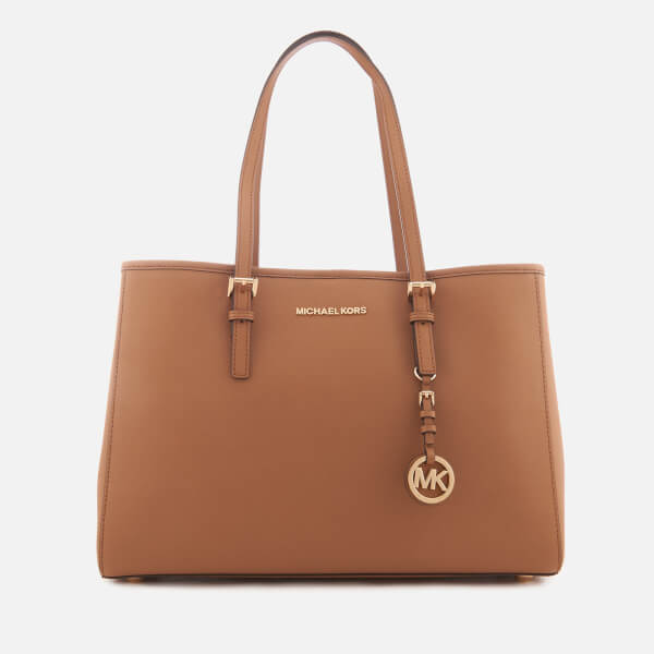 681d52e89019fc MICHAEL MICHAEL KORS Women's Jet Set Travel Large East West Tote Bag - Acorn:  Image