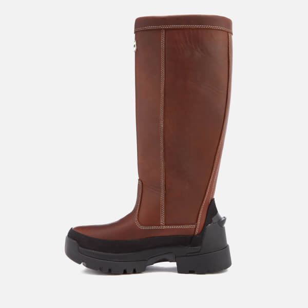 hunter balmoral leather boots review