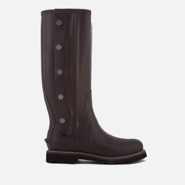 Hunter Men's Balmoral Side Zip Wellington Boots - Bitter Choc: Image 1