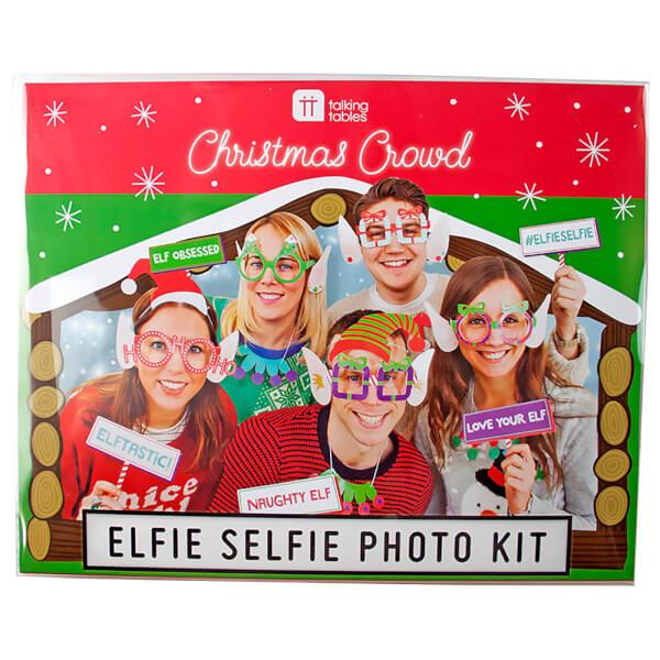Christmas Elfie Selfie Photo Kit