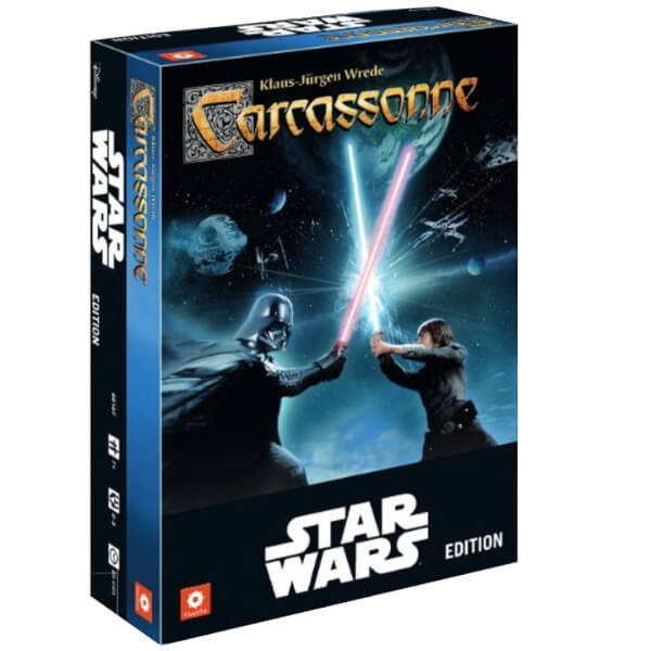 Star Wars Carcassonne Game