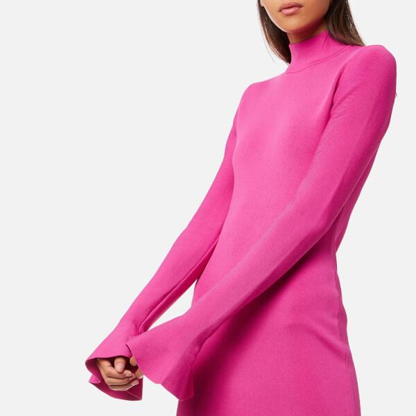 Michael Kors Women S Bell Sleeve Dress Ultra Pink Image 4