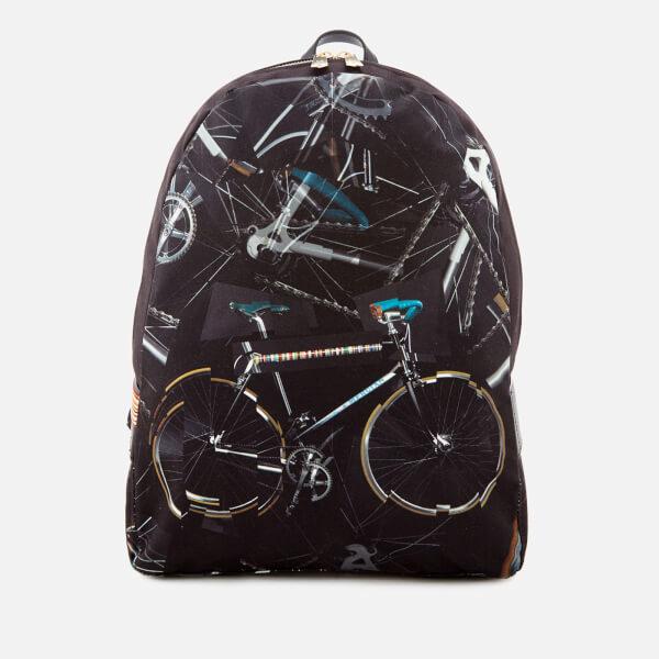 Paul Smith Men's Bicycle Print Rucksack - Multi