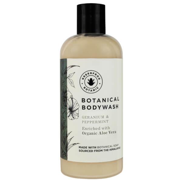 Greenfrog Botanics Natural Bodywash in Relaxing Geranium and Peppermint