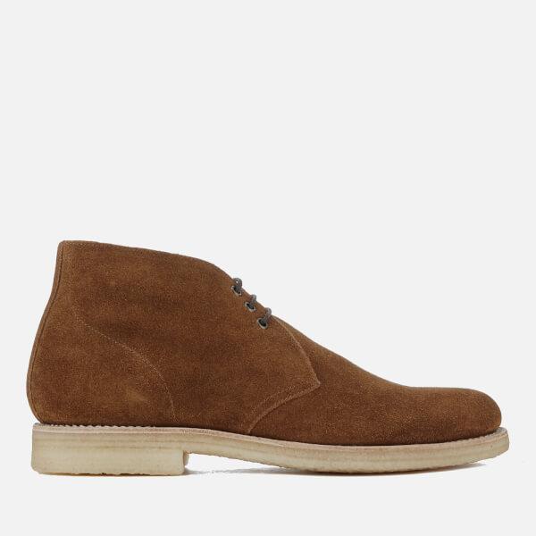 3dc2d70e383c55 Grenson Men s Oscar Suede Chukka Boots - Snuff  Image 1