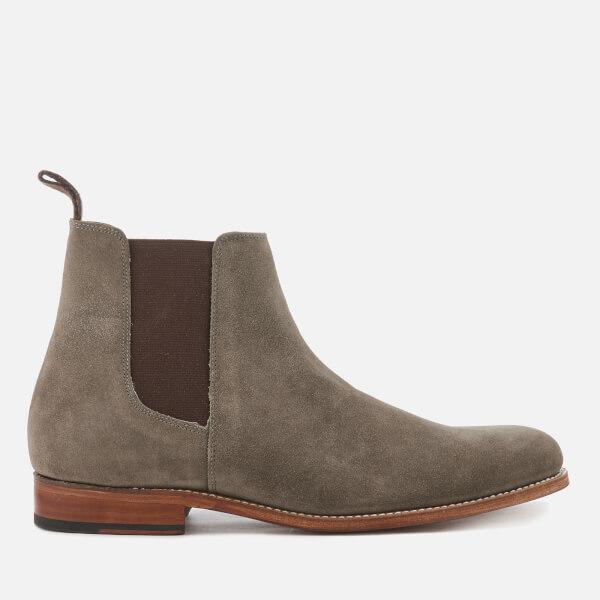 Grenson Men's Declan Suede Chelsea Boots - Vigogna