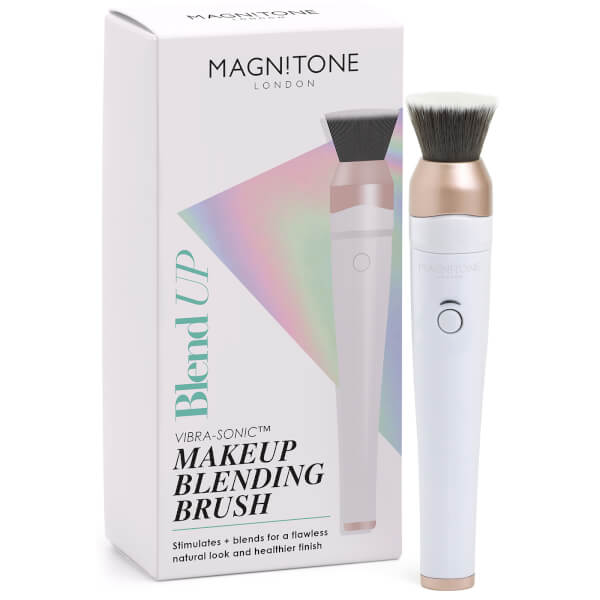 Magnitone BlendUp! Vibra-Sonic Make Up Brush - White