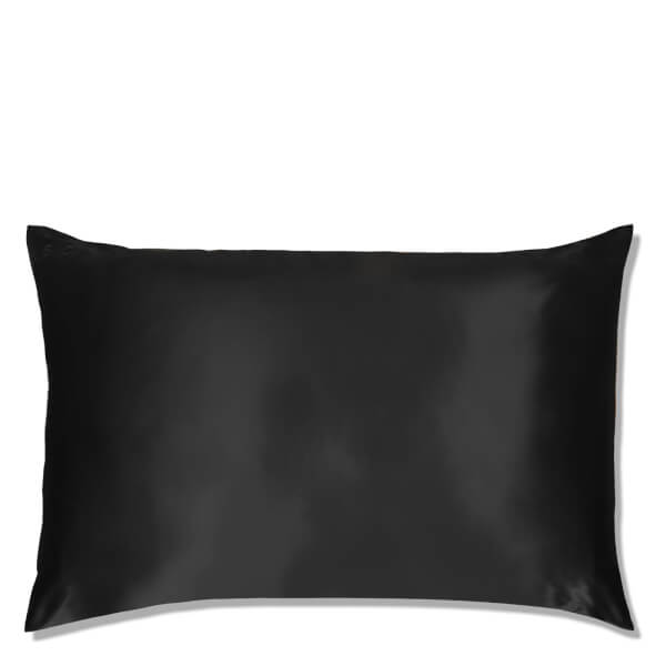 Slip Silk Pillowcase King Black Free Shipping