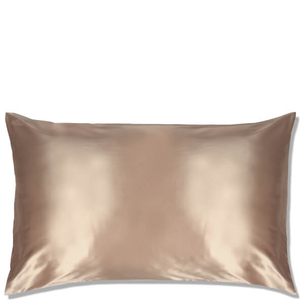 Slip Silk Pillowcase King - Caramel