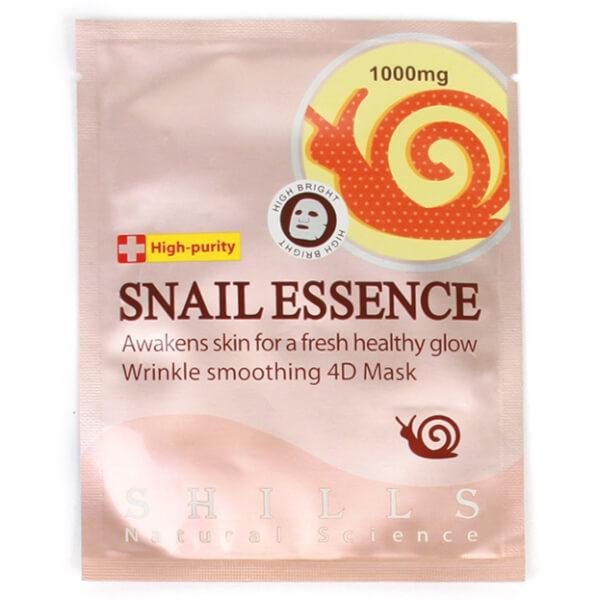 Shills Snail Essence Wrinkle-Smoothing Sheet Mask
