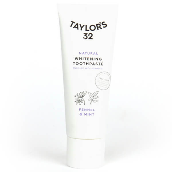 Taylor's 32 Fennel & Mint Natural Whitening Toothpaste