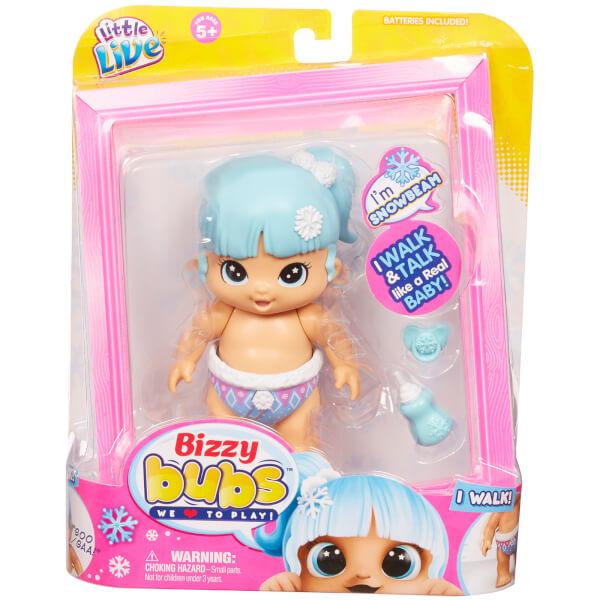 Little Live Bizzy Bubs Walking Baby Snowbeam - Series 1