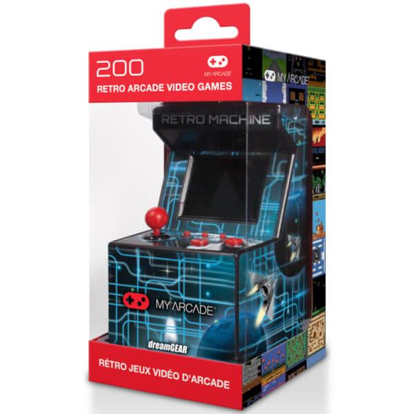 My Arcade Portable Retro 8-Bit Mini Arcade Cabinet (Includes 200 ...