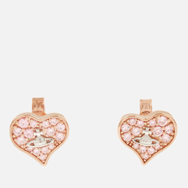 Vivienne Westwood Women's Freya Earrings - Pink Cubic Zirkonia